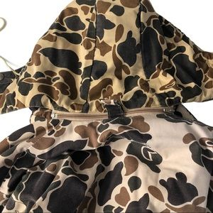 10X Jackets & Coats - 10X Duck Hunter Camo Hooded Winter Jacket Coat